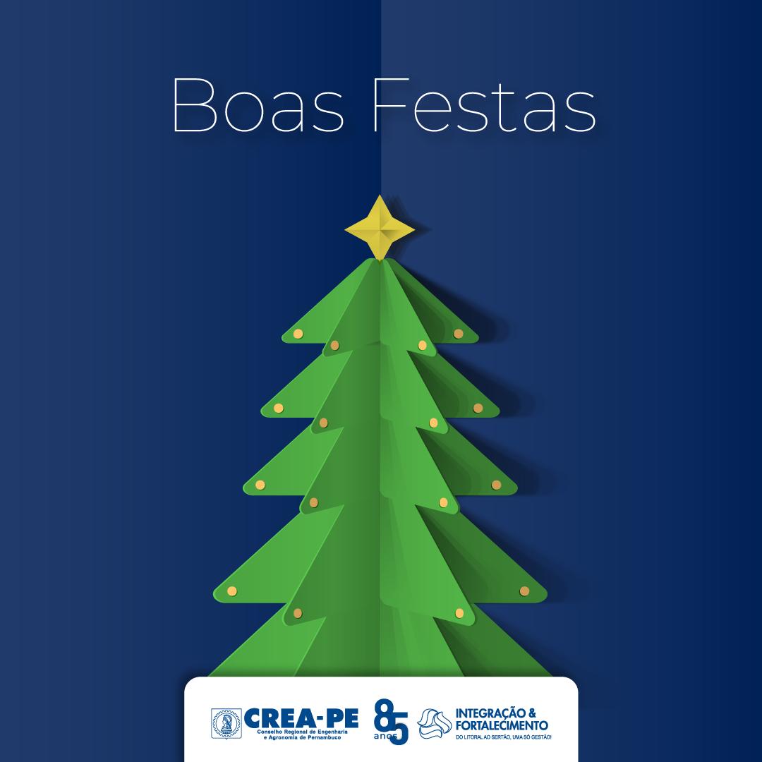 Read more about the article O Crea-PE deseja Boas Festas a todos