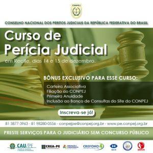 CONPEJ abre inscrições para a última turma 2019 do curso de Perícia Judicial