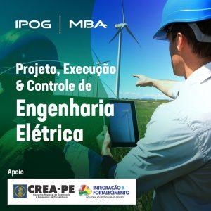 Matrículas abertas para o MBA Projeto, Execução & Controle de Engenharia Elétrica