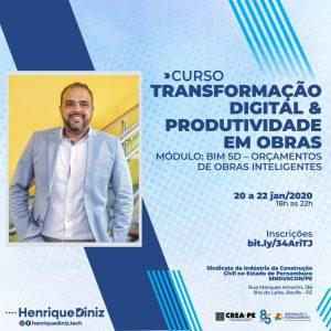 Transformação digital & Produtividade em obras