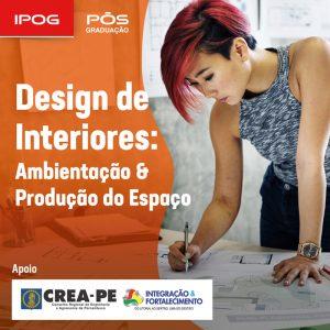 IPOG inscreve para especialização em Design de Interiores – Ambientação e Produção do Espaço
