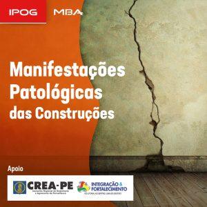 IPOG abre inscrições para o MBA Manifestações Patológicas das Construções