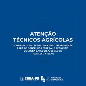 Crea-PE inicia processo de transição para saída de técnicos agrícolas do Sistema Confea/Crea