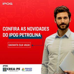Conheça os Cursos de Aperfeiçoamento Profissional oferecidos pelo IPOG PETROLINA