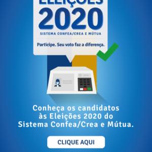 Conheça os candidatos às Eleições 2020 do Sistema Confea/ Crea e Mútua