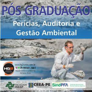 HG2/INESP abre Inscrições para Pós-Graduação em Perícias, Auditoria e Gestão Ambiental em 5 cidades do interior de Pernambuco