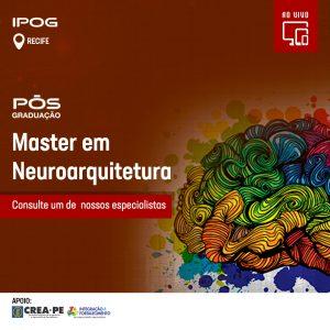 Faça parte da primeira turma de especialistas em NEUROARQUITETURA do Brasil