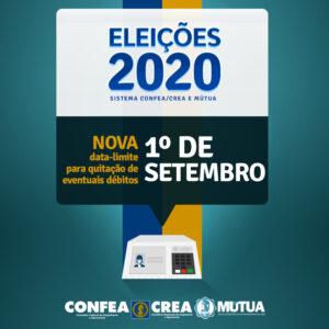 Eleitores do Crea-PE têm prorrogação até 1º de setembro para regularizar anuidade e escolher local de votação
