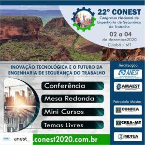 22º CONEST – CONGRESSO NACIONAL DE ENGENHARIA DE SEGURANÇA DO TRABALHO