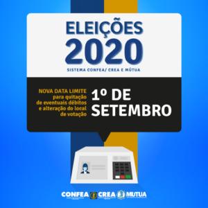 Termina em 1º de setembro o prazo para regularização de débitos no Crea-PE e mudança do local de votação