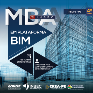 INBEC abre inscrições para  a 4ª turma do MBA em Plataforma BIM