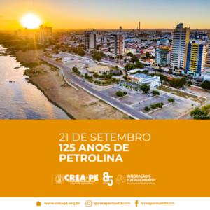 21.09 – Aniversário de Petrolina