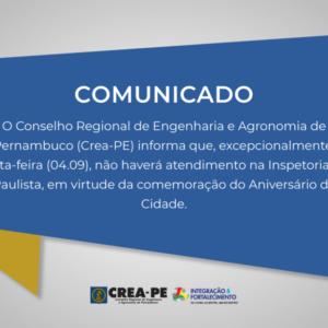 Comunicado Atendimento Paulista