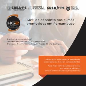 HG2/INESP oferece cursos de pós-graduação com 30% de desconto em Petrolina