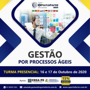 Grupo OPorto Forte oferece curso presencial de Gestão por Processos Ágeis