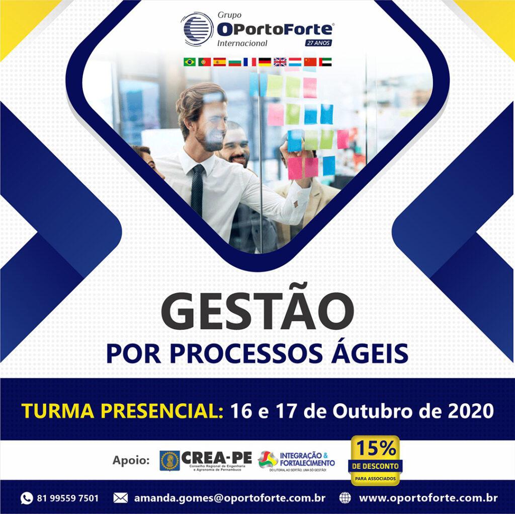 Read more about the article Grupo OPorto Forte oferece curso presencial de Gestão por Processos Ágeis