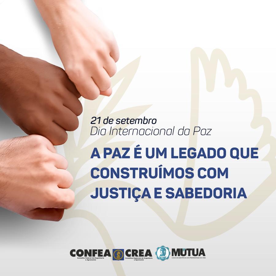 Read more about the article 21.09 – Dia Internacional da Paz