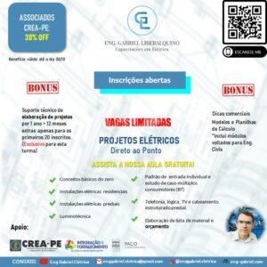 Curso on-line de Projetos Elétricos com 30% de desconto