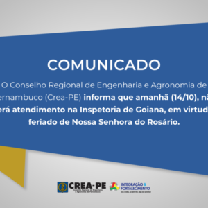 ATENÇÃO! Comunicado Atendimento Inspetoria de Goiânia