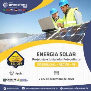 Curso Projetista + Instalador de sistema de energia solar fotovoltaica