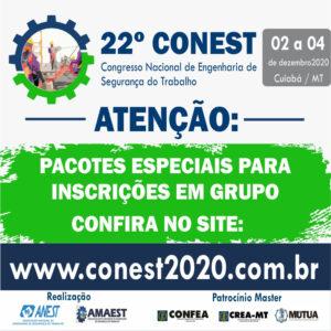 22º Congresso Nacional de Engenharia de Segurança do Trabalho