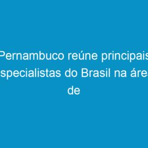 Pernambuco reúne principais especialistas do Brasil na área de revestimentos