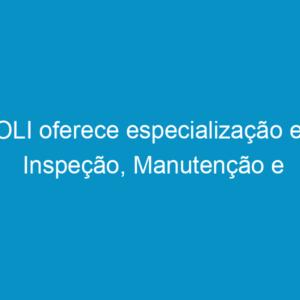 POLI oferece especialização em Inspeção, Manutenção e Recuperação de Estruturas