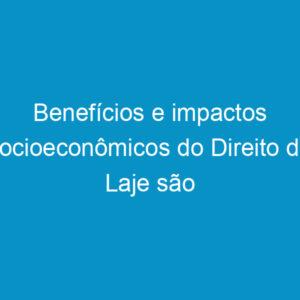 Benefícios e impactos socioeconômicos do Direito de Laje são debatidos no Terça no Crea
