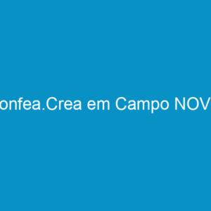 Confea.Crea em Campo NOVO
