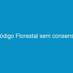 Código Florestal sem consenso