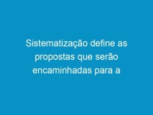 Read more about the article Sistematização define as propostas que serão encaminhadas para a discussão no 8º CNP