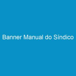 Banner Manual do Síndico