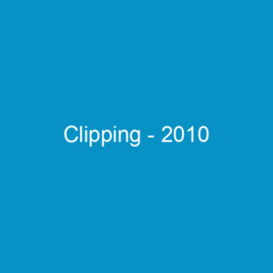 Clipping – 2010