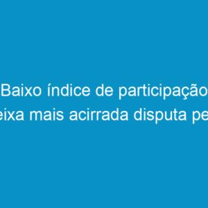 Baixo índice de participação deixa mais acirrada disputa pela presidência do Crea-PE
