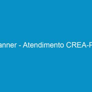 Banner – Atendimento CREA-PE