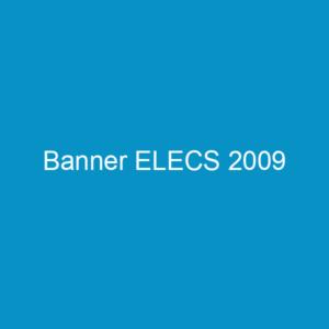 Banner ELECS 2009