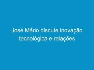 Read more about the article José Mário discute inovação tecnológica e relações internacionais no grupo cinza do 7ºCNP