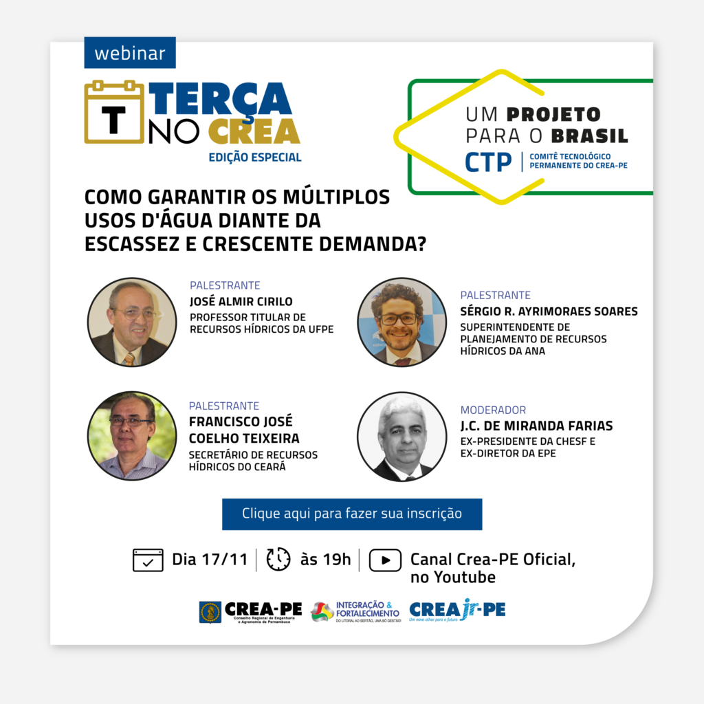 Read more about the article Segurança Hídrica na pauta de Um Projeto para O Brasil