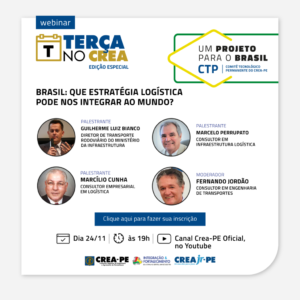 Um Projeto para o Brasil abre discussão nova estratégica sobre Logística