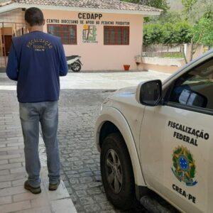 Fiscalização Dirigida do Crea-PE chega a cidade de Arcoverde no Sertão do Moxotó