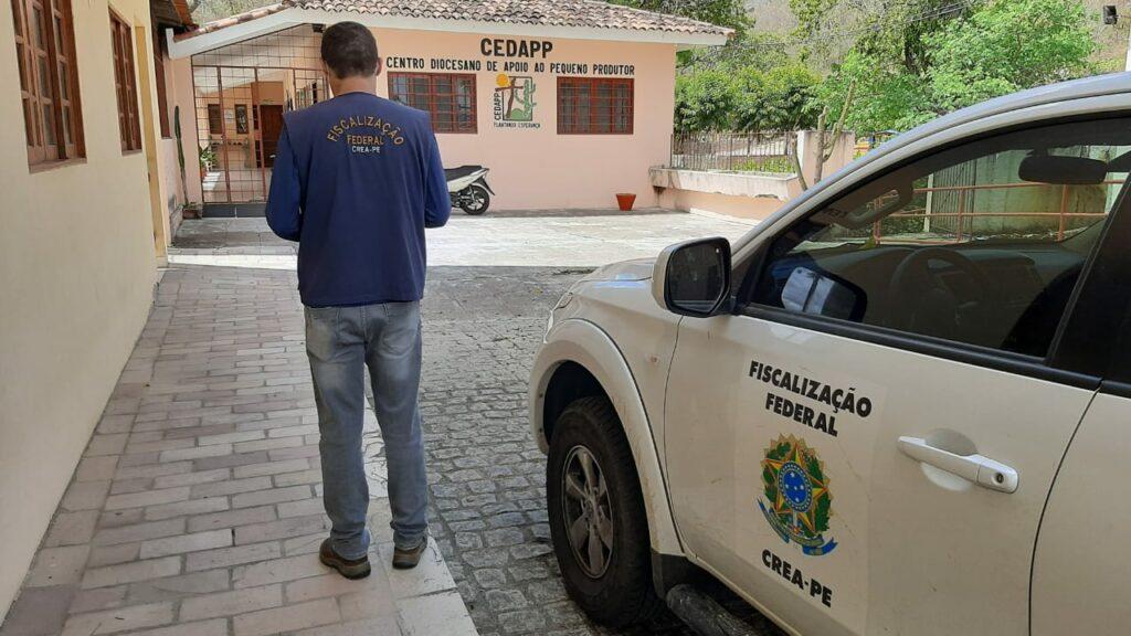 Read more about the article Fiscalização Dirigida do Crea-PE chega a cidade de Arcoverde no Sertão do Moxotó