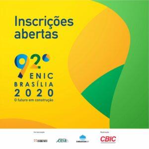 92° ENIC – Encontro Nacional da Indústria da Construção