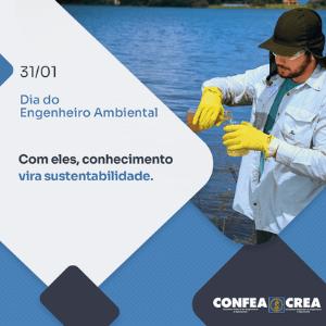Homenagem ao Dia do Engenheiro Ambiental abordará a importância da profissão nas obras e serviços