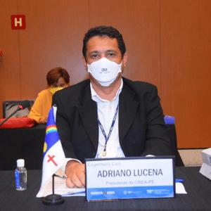 Adriano Lucena representa o Crea-PE no Encontro de Líderes Representantes do Sistema Confea/Crea