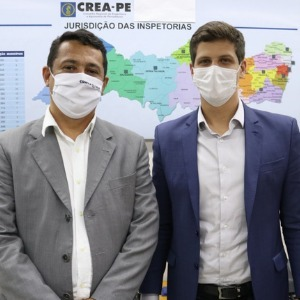 Visita de João Campos ao Crea-PE discutiu ações conjuntas na área de moradia e infraestrutura