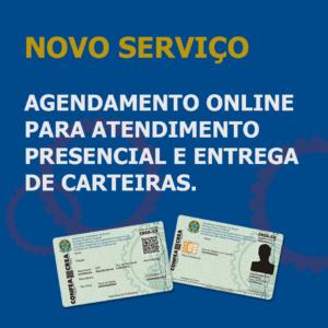 Crea-PE cria sistema de agendamento no site para entrega de carteiras e atendimento presencial