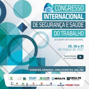 Congresso Internacional de Segurança e Saúde do Trabalho começa nesta segunda e tem inscrições gratuitas