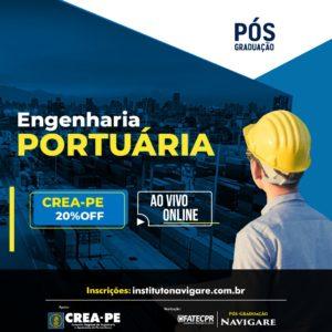Parceria garante Pós-Graduação em Engenharia Portuária com 20% de desconto