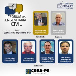 Engenharia civil ganha fórum de debates