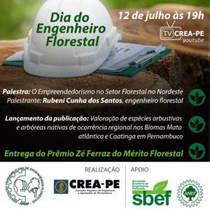 Comemoração do Dia do Engenheiro Florestal acontece nesta segunda em evento virtual